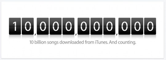 itunes counting
