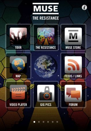 muse application iphone