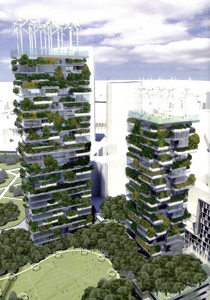 Il bosco verticale di stefano boeri un microclima nel for Bosco verticale architetto